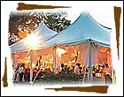 wedding tents, outdoor wedding tents, wedding reception tents, wedding party tents, decorated wedding tents