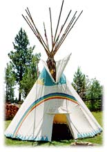 canvas tipi, tipi makers, plain indian tipi, tipi designs, big tipi, tipi for sale, traditional tipi, tipi tent